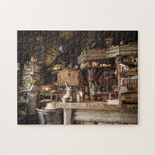 Medieval Kitchen Jigsaw Puzzle
