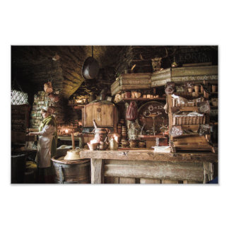 Medieval Kitchen Photograph