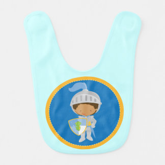 Medieval Knight Baby Boy Bib