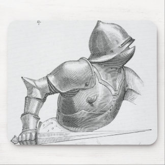 Medieval Knight Mouse Pad