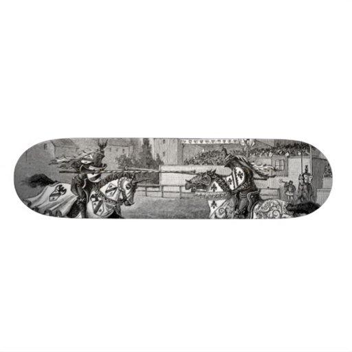 Medieval Knights Jousting Skateboard