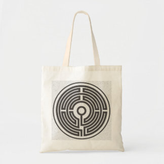 medieval labyrinth small tote bag