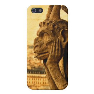 Medieval Le Stryge Gargoyle at Notre Dame, Paris iPhone 5 Covers