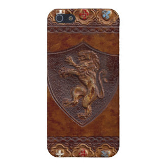 Medieval Leather Book Cover iPhone 5 Cover