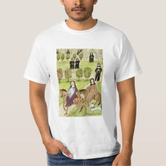 Medieval Life in England - Canterbury pilgrims 1 T-Shirt