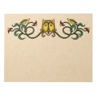 Medieval Lion Design Notepad