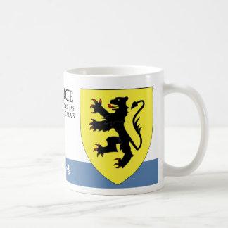 Medieval Lion Rampant from Nord de Calais France Coffee Mug