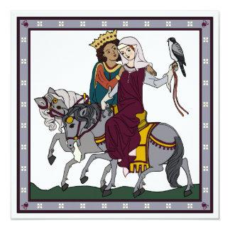 Medieval Love Poem Card