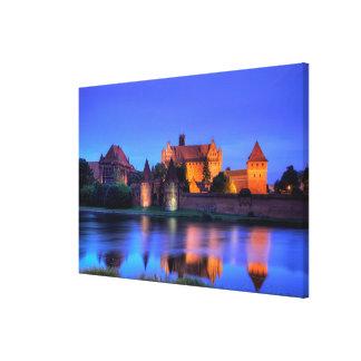 Medieval Malbork Castle Canvas Print
