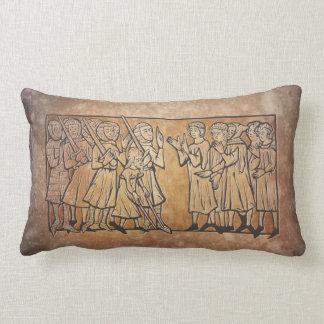 Medieval Meeting Lumbar Pillow