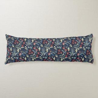 "Medieval Millefleur Body Pillow ( 20"" x 54"")"