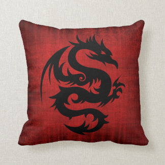 Medieval Red Velvet Cushion