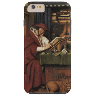 Medieval Renaissance van Eyck St. Jerome lion Tough iPhone 6 Plus Case