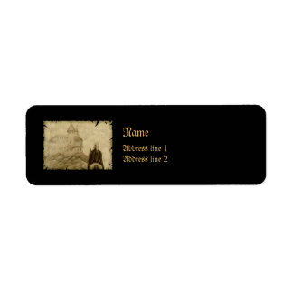 Medieval Return Address Label