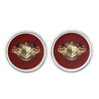 Medieval Shield Cufflinks