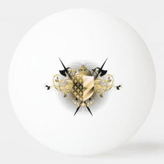 Medieval Shield Ping Pong Ball