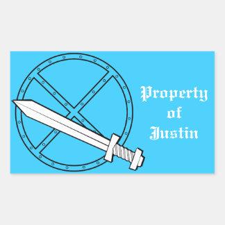 Medieval Shield w/ Sword