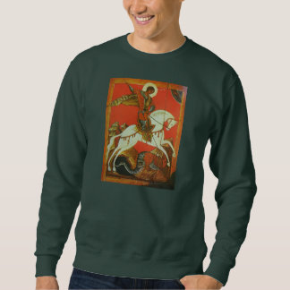 Medieval St George and Dragon Sweatshirt