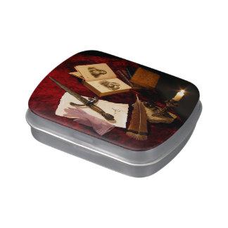 Medieval Still Life Candy Tin