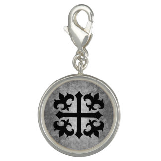 Medieval symbol cross charms