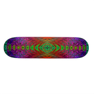Medieval Time Warp Space Portal to Other World Custom Skate Board
