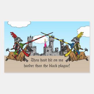 Medieval Times - Love Declaration Sticker