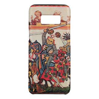 MEDIEVAL TOURNAMENT, FIGHTING KNIGHTS AND DAMSELS Case-Mate SAMSUNG GALAXY S8 CASE