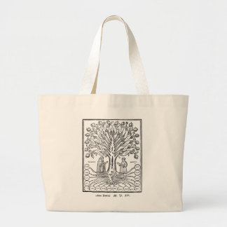 Medieval Tree of the Sciences Large Tote Bag