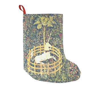 Medieval Unicorn Tapestry - Stocking