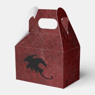 Medieval Vintage Fantasy Dragon Favor Box