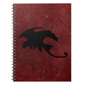 Medieval Vintage Fantasy Dragon Notebook