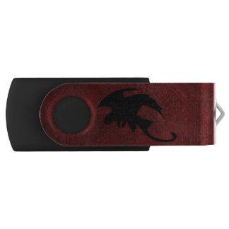 Medieval Vintage Fantasy Dragon USB Flash Drive