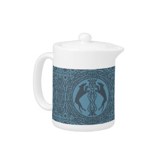 MEDIEVAL WEIM BLUE SMALL TEAPOT