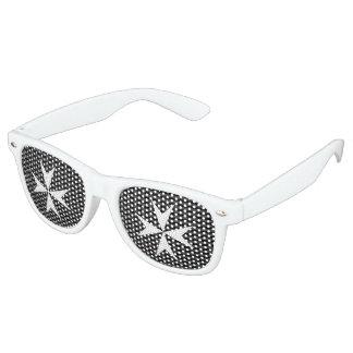 Medieval white cross | Order of St John (UK) Retro Sunglasses