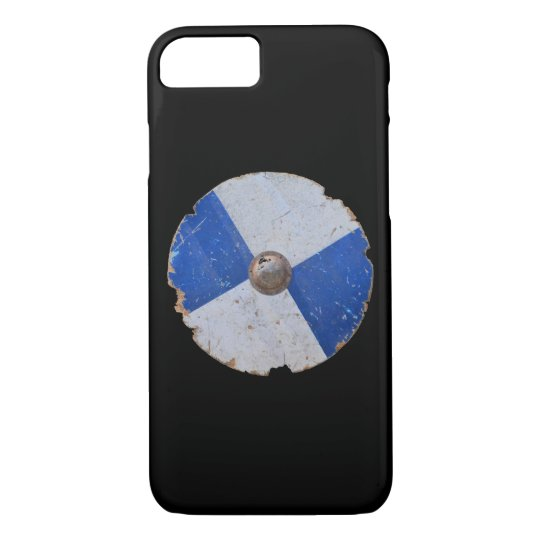 medieval wood metal shield war weapon armour iPhone 8/7 case