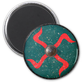 medieval wood metal shield war weapon knight armor magnet