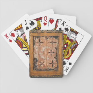 medieval wood painting art vintage old dark Gothic Playing Cards