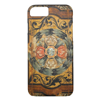 medieval wood painting art vintage old Gothic hist Case-Mate iPhone Case