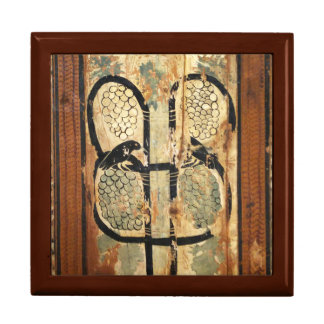 medieval wood painting art vintage old history gift box