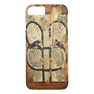 medieval wood painting art vintage old history iPhone 7 case