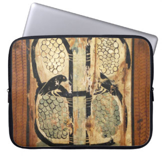 medieval wood painting art vintage old history laptop sleeve