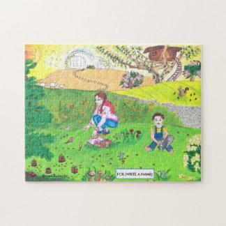 Medilludesign - children in park puzzle