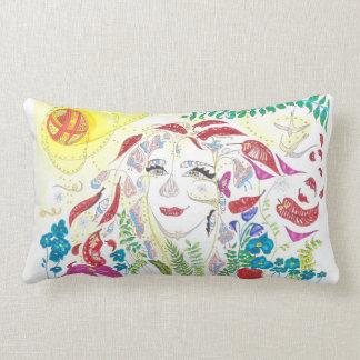 Medilludesign - Consciousness expansion Lumbar Pillow