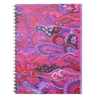 Medilludesign Inner Garden violet Notebooks