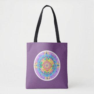 Medilludesign - Mandala Meditation Tote Bag