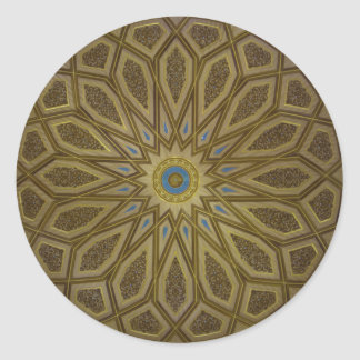 Medina Dome Classic Round Sticker