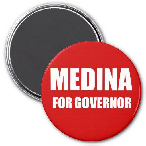 MEDINA FOR GOVERNOR MAGNET