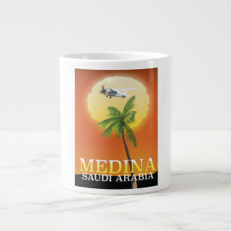 Medina Saudi Arabia Travel poster Large Coffee Mug