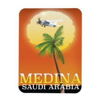 Medina Saudi Arabia Travel poster Magnet