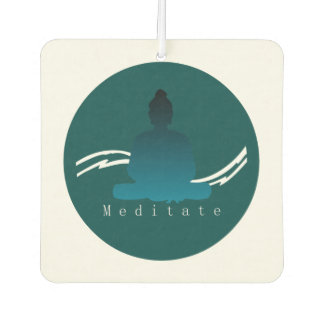 """Meditate"" Beautiful Buddha. Air Freshener"